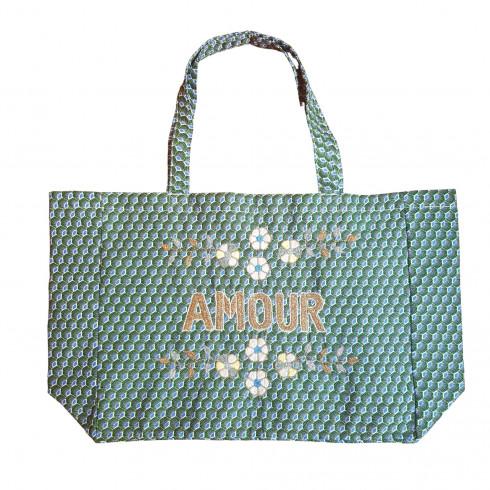 copy of Kossiwa bag embroidered AMOUR