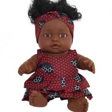 Amy Doll - Red black Dress