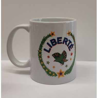 Printed mug LIBERTE