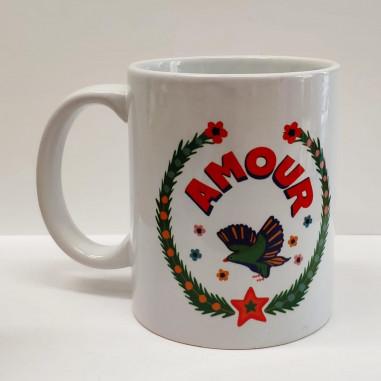 Printed mug AMOUR
