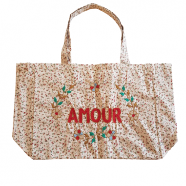 Kossiwa bag embroidered AMOUR