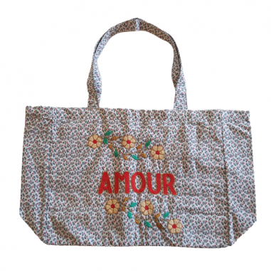 copy of Kossiwa bag embroidered AMOUR