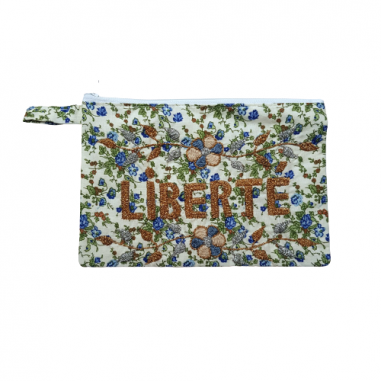 LIBERTE embroidered clutch M
