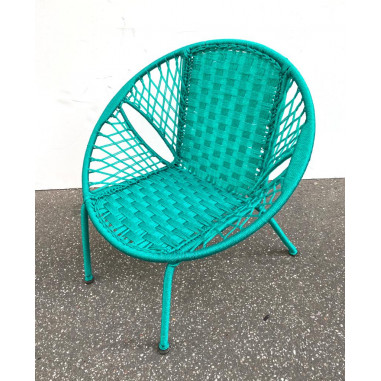 Child armchair in son fishing braided