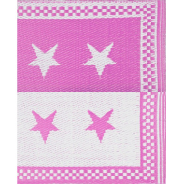Recycled Plastic Rugs Etoiles Stars Nattes Taille Casa 70 X